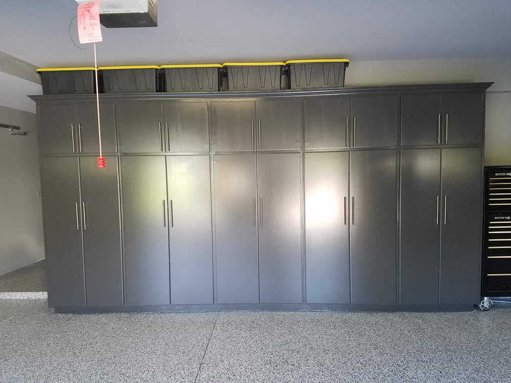 Paul Campbell Kitchen Cabinets Ventura County Garage Flooring, Tile, Cabinets, Storage And Organization