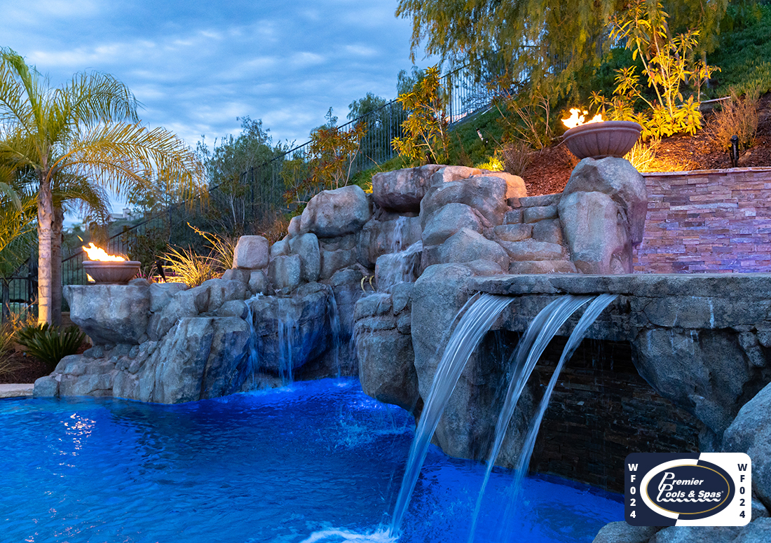 Amazing Pool Water Features From Astounding To Elegant