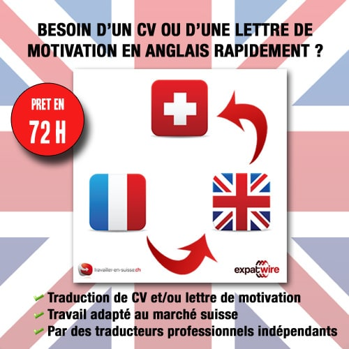 lettre de motivation et cv traduction en anglais