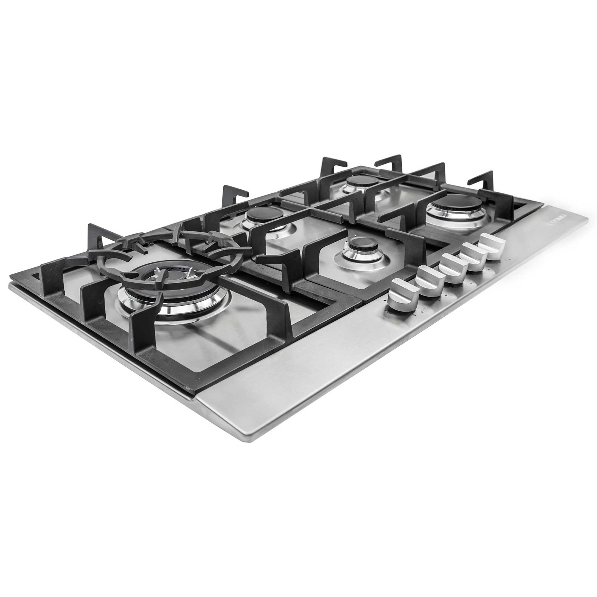 Gas Cooktop Installation Cost 30 Quot Gas Cooktop Stainless Steel W 5 Burners 850sltx E