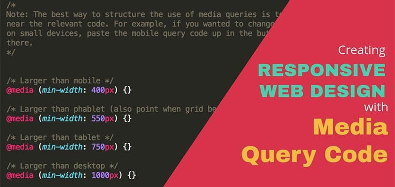 How to create Responsive Website with Media Query? - PremiumCoding - Responsive Media