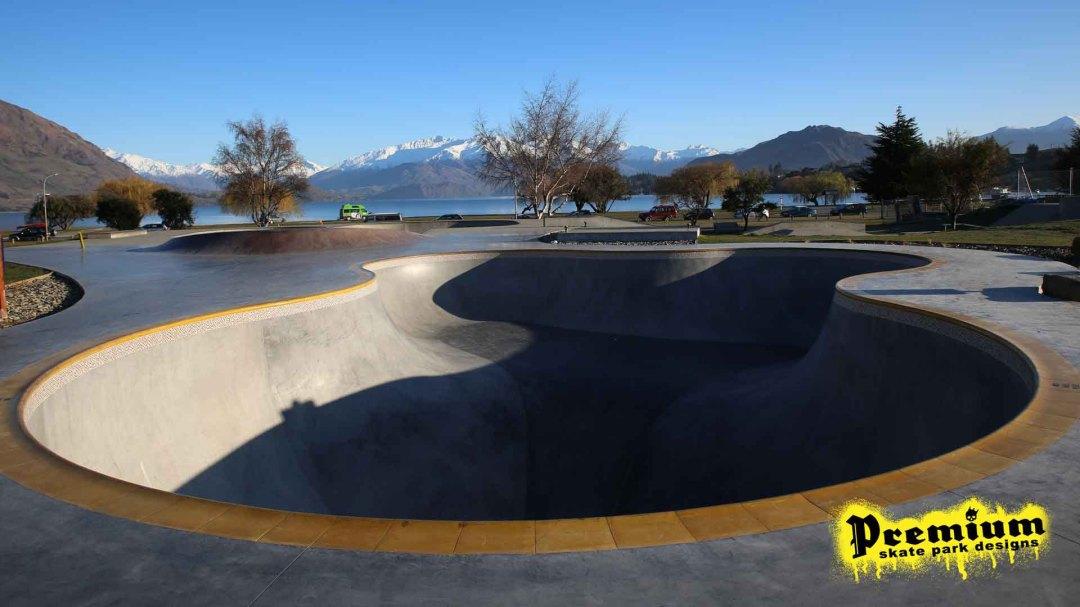 Coping - Wanaka Bowl - Premium Skatepark Designs