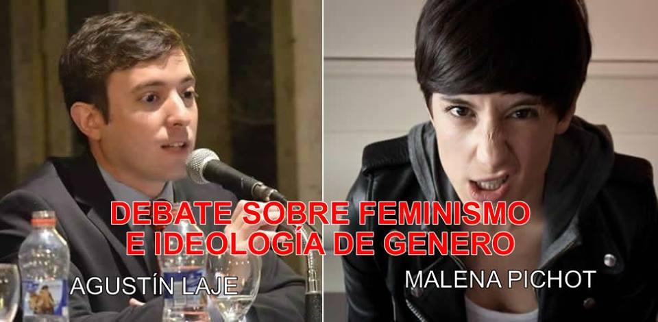 Debate radial: Agustín Laje reventó a la feminista Malena Pichot y sus secuaces