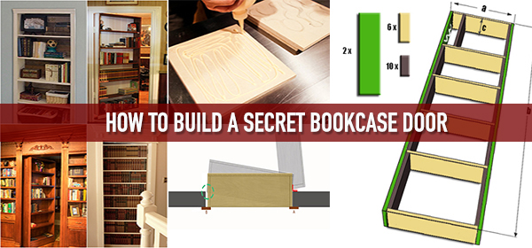 How To Build A Secret Bookcase Door Survival