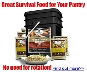 Ready to eat Survival Food