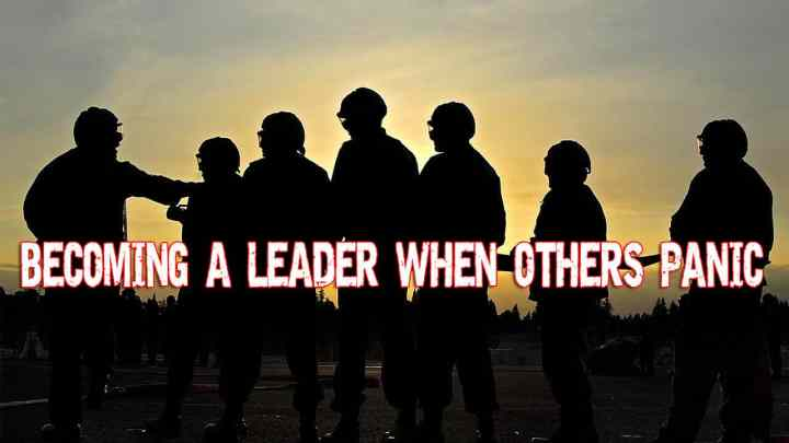 Becoming a LEADER when others Panic