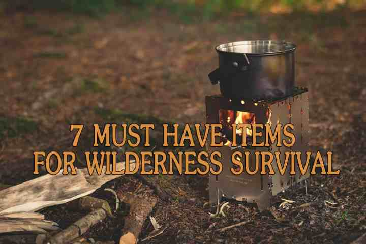 7 Must Have Items for Wilderness Survival