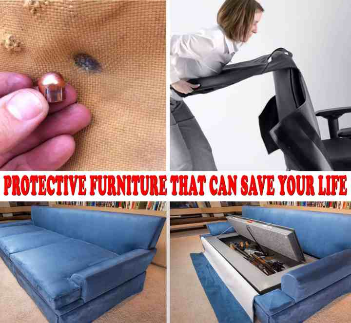 Protective Furniture that can save your life