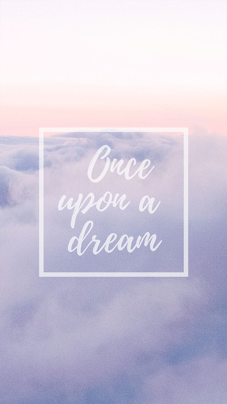 Once Upon A Time Wallpaper Iphone 6 Cloudy Pastel Iphone Wallpapers For Daydreamers Preppy
