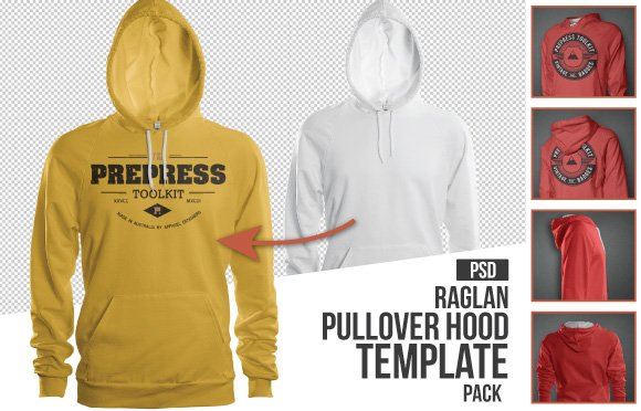 Pullover Hoodie Mockup Templates Pack 10+ Must Have Mockup Templates For T-shirt And Apparel Design