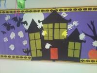 Halloween | preschool bulletin boards