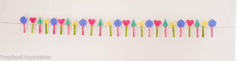 Christmas Advent Countdown by Preschool Inspirations-8
