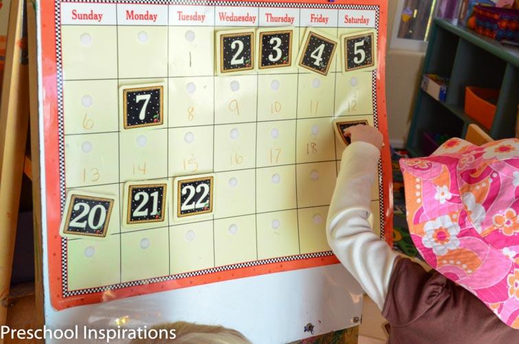 Making Calendar Time Meaningful - Preschool Inspirations