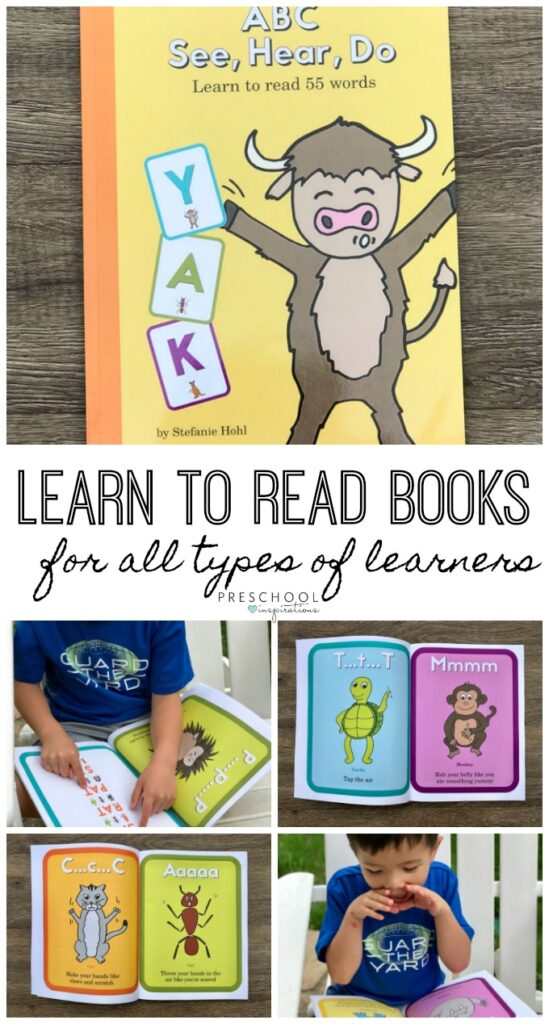 Books to Teach Reading and Letter Sounds - Preschool Inspirations