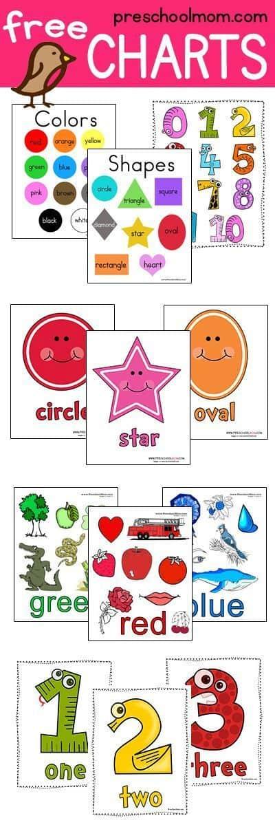 Shape Preschool Printables - Preschool Mom