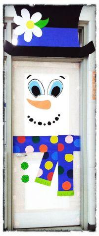 Cartoon Christmas Door Decorations | www.indiepedia.org