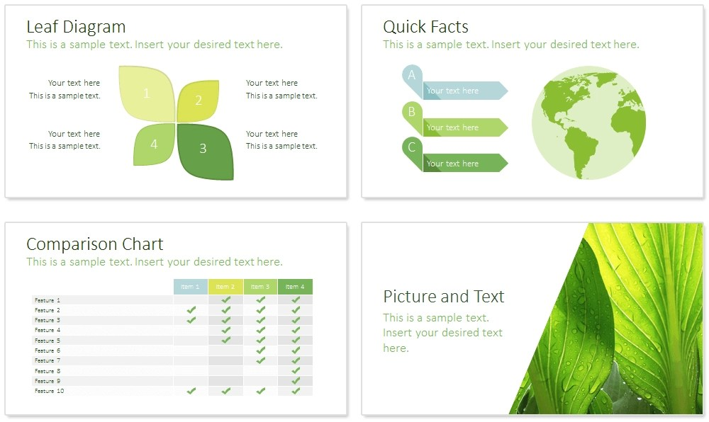 Checklist Template Microsoft Office Templates Sustainability Powerpoint Template Presentationdeck