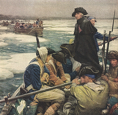 George Washington Crossing the Delaware President George Washington