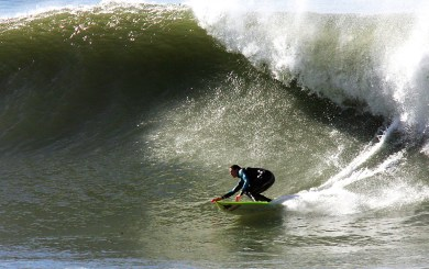 Gerhardt balances life as mother, professor, scientist, big-wave surfer