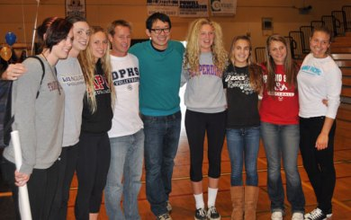 Eighteen Dos Pueblos athletes introduced at signing ceremony