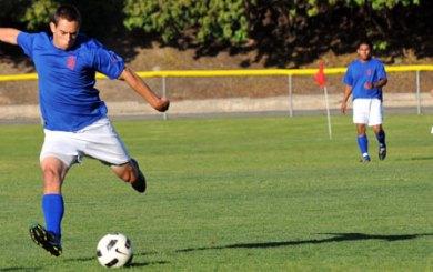 San Marcos sweeps alumni soccer tripleheader