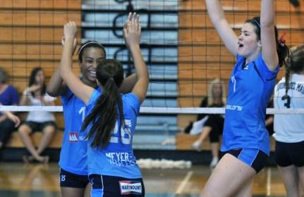 Marymount girls volleyball