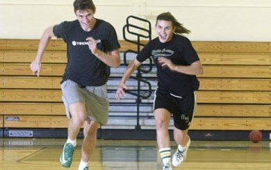 John Zant: Senior year showtime for basketball buddies