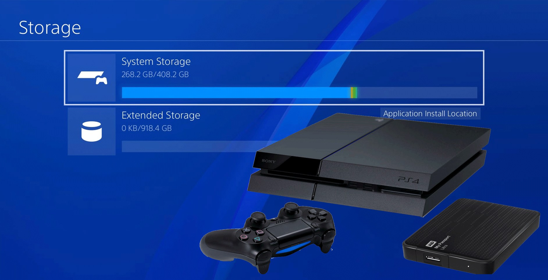Hard Disk Esterni Ps4 How To Use An External Hard Drive With Your Playstation 4