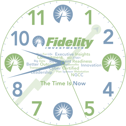 Fidelity Investments Clock