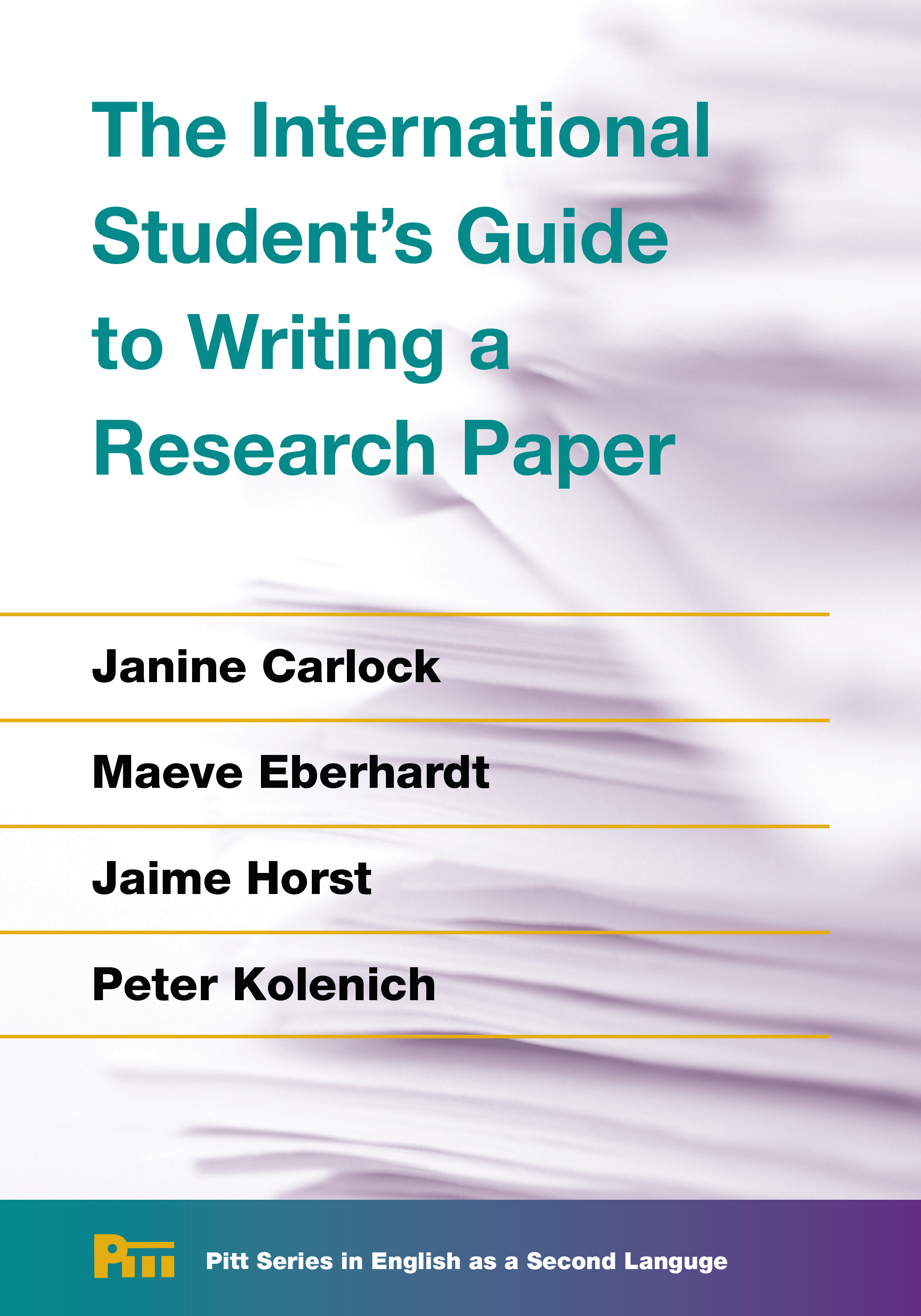 Writing Guide The International Student S Guide To Writing A Research Paper
