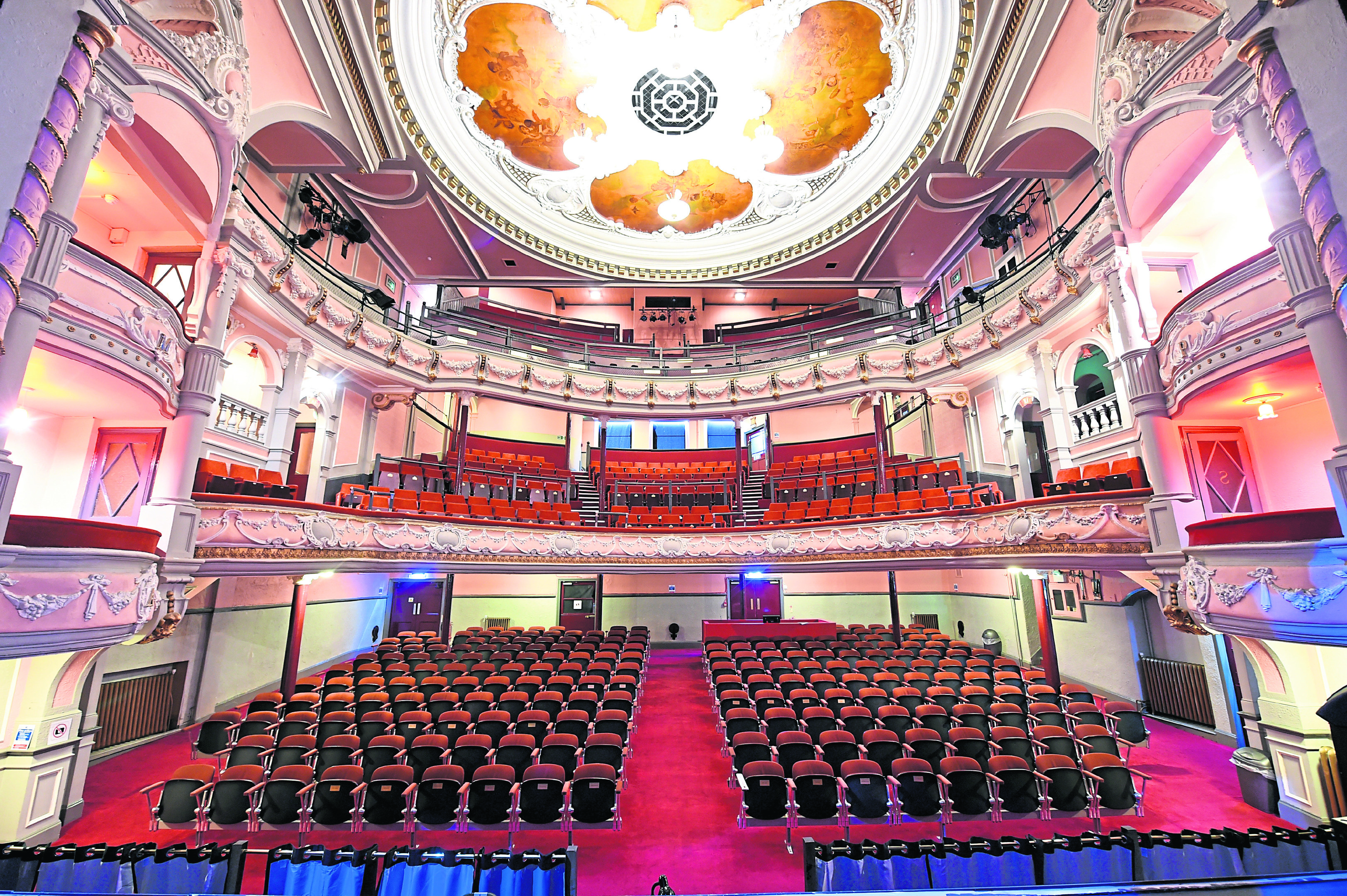 Tickets For Tivoli Theatre Aberdeen Aberdeen S Tivoli Theatre Arranges Global Event On Hogmanay