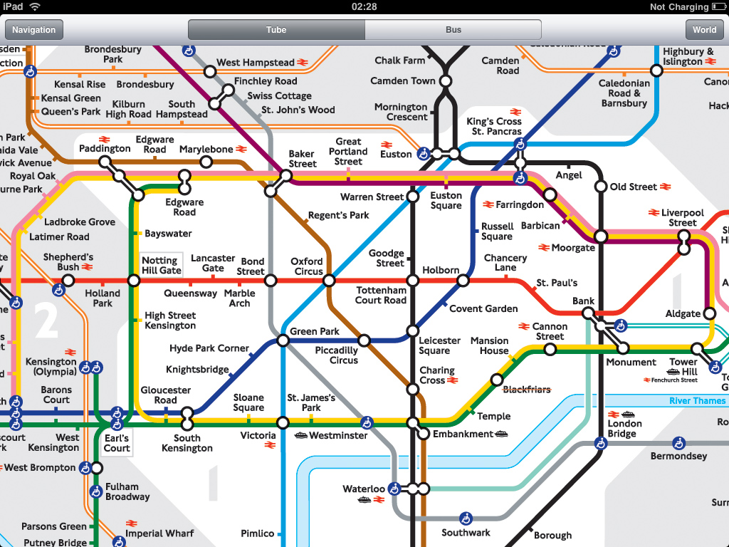 Hd Tube London Tube Application For Ipad