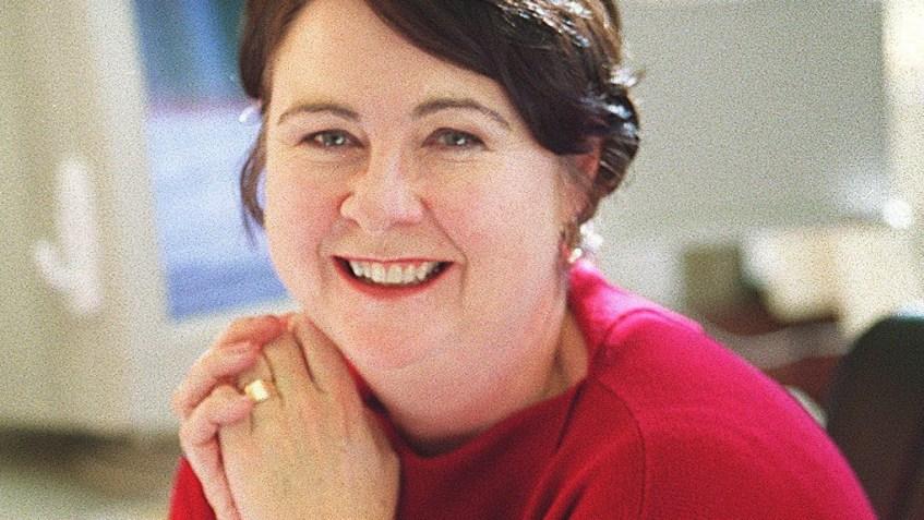 WEDNESDAY, JAN. 2, 2002 - Ellen Soeteber, editor of the St. Louis Post-Dispatch. PHOTO BY JERRY NAUNHEIM JR.