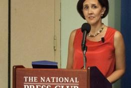 Marina Walker Guevara receives alumni award in Washington DC.