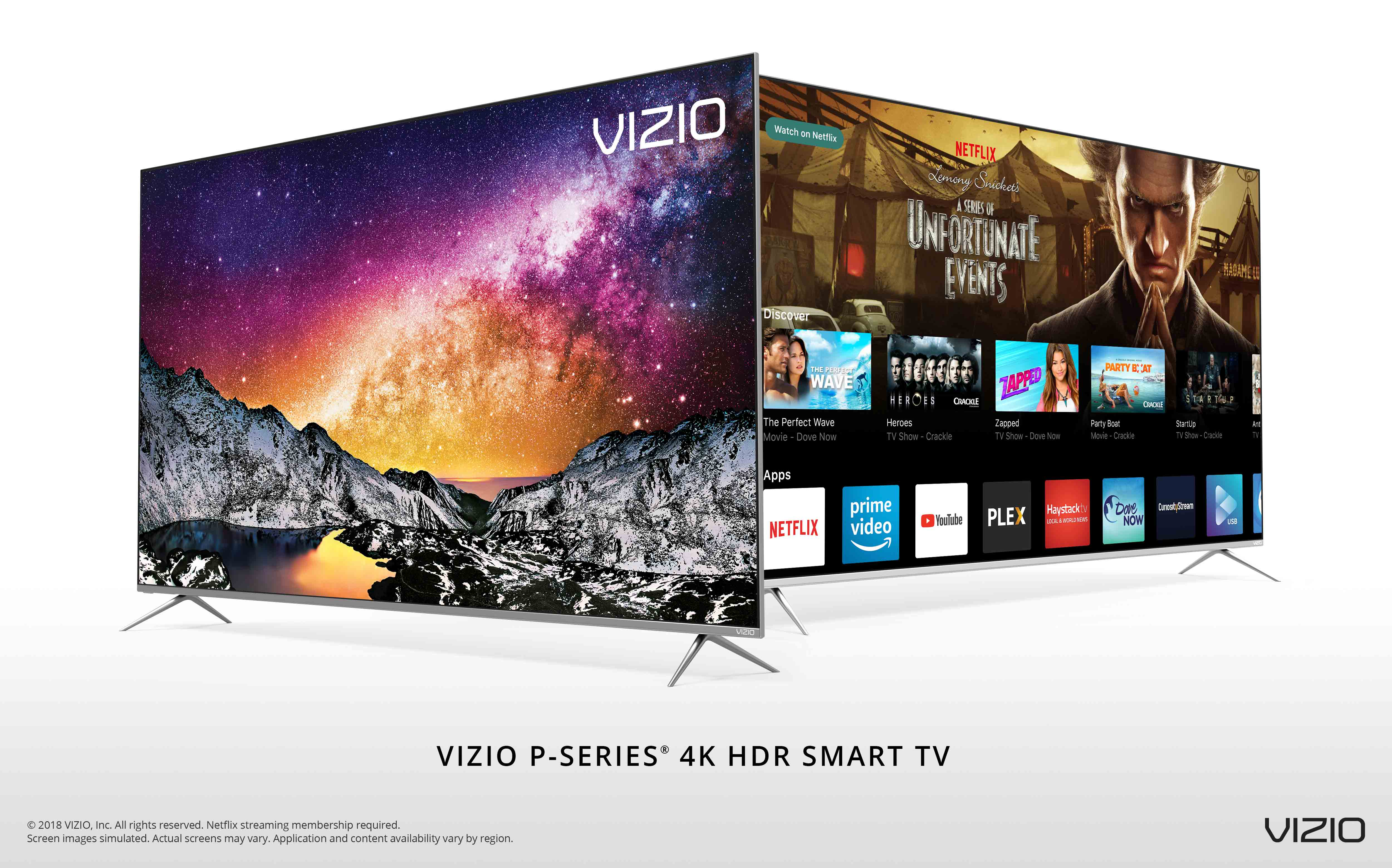 Tv At Costco Canada Vizio Announces Availability Of Its All New 2018 P Series 4k Hdr