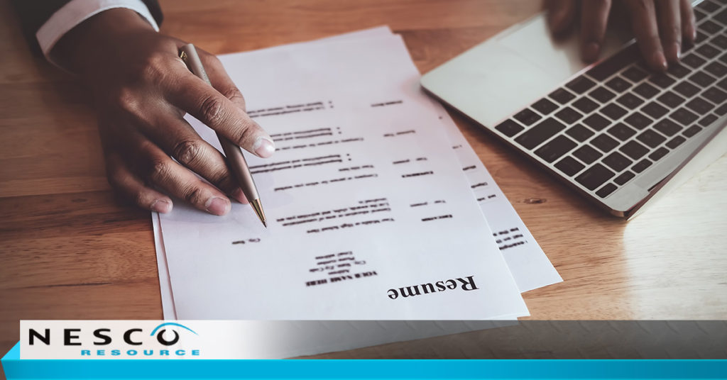 Tips for Tailoring Your Resume for a Specific Job Nesco Resource
