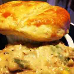 Small Of Instant Pot Chicken Pot Pie