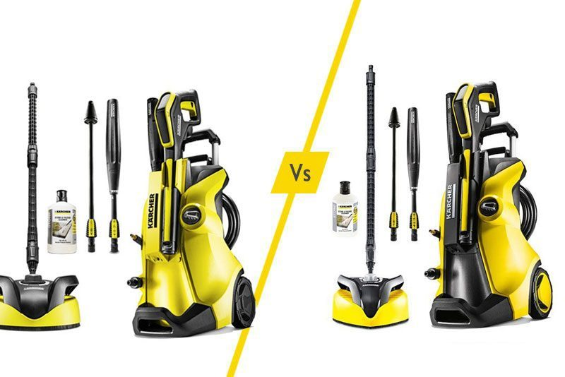 Karcher K4 Full Control Home Karcher Pressure Washers: K4 Vs K5 - What Is The Difference?