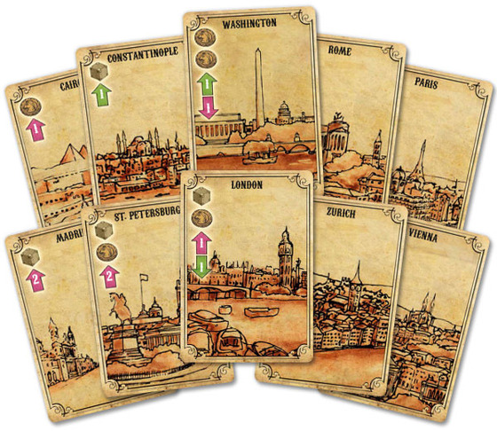 asie city cards