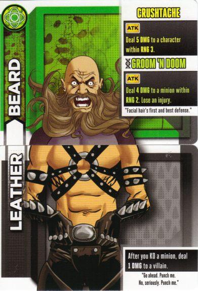 leather beard