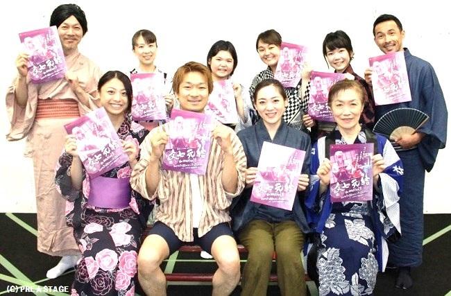 いよいよ明日開幕!落語ミュージカル『文七元結 the musical』 出演、望月龍平、有希九美 インタビュー!