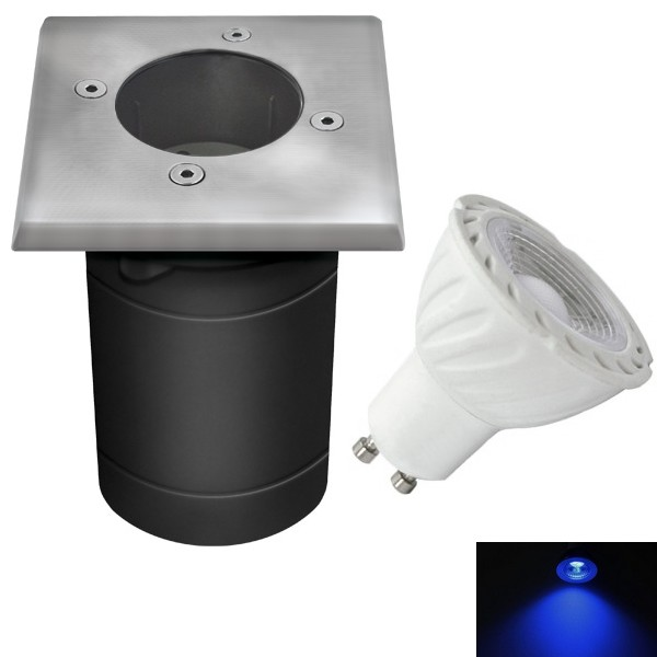 Spot Encastrable Led Exterieur De Sol Carre Etanche Ip67