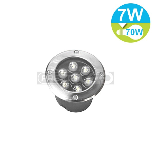 Spot Encastrable Led Exterieur De Sol Etanche Ip67 7w