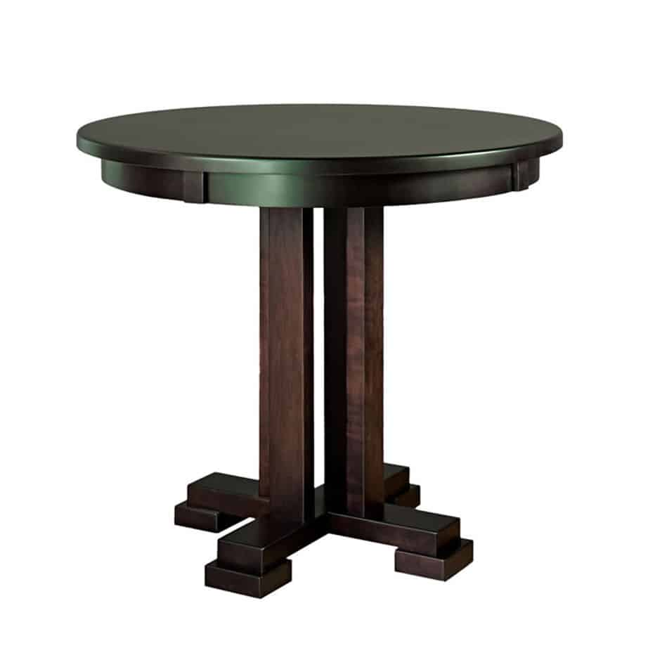 Oval Dining Table Canada Carolina Round Pub Table Prestige Solid Wood Furniture Port