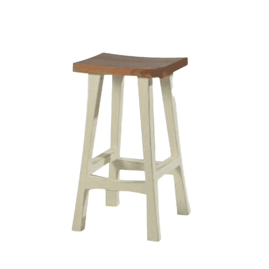 Island Stools Canada True North Saddle Stool Prestige Solid Wood Furniture Port