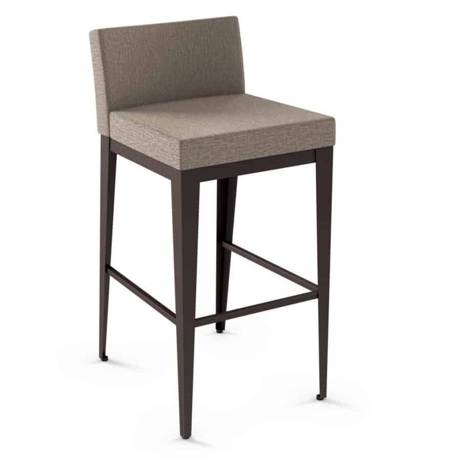 Island Stools Canada Ethan Upholstered Stool Prestige Solid Wood Furniture Port