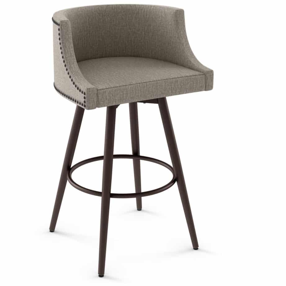 Island Stools Canada Radcliffe Swivel Stool Prestige Solid Wood Furniture Port