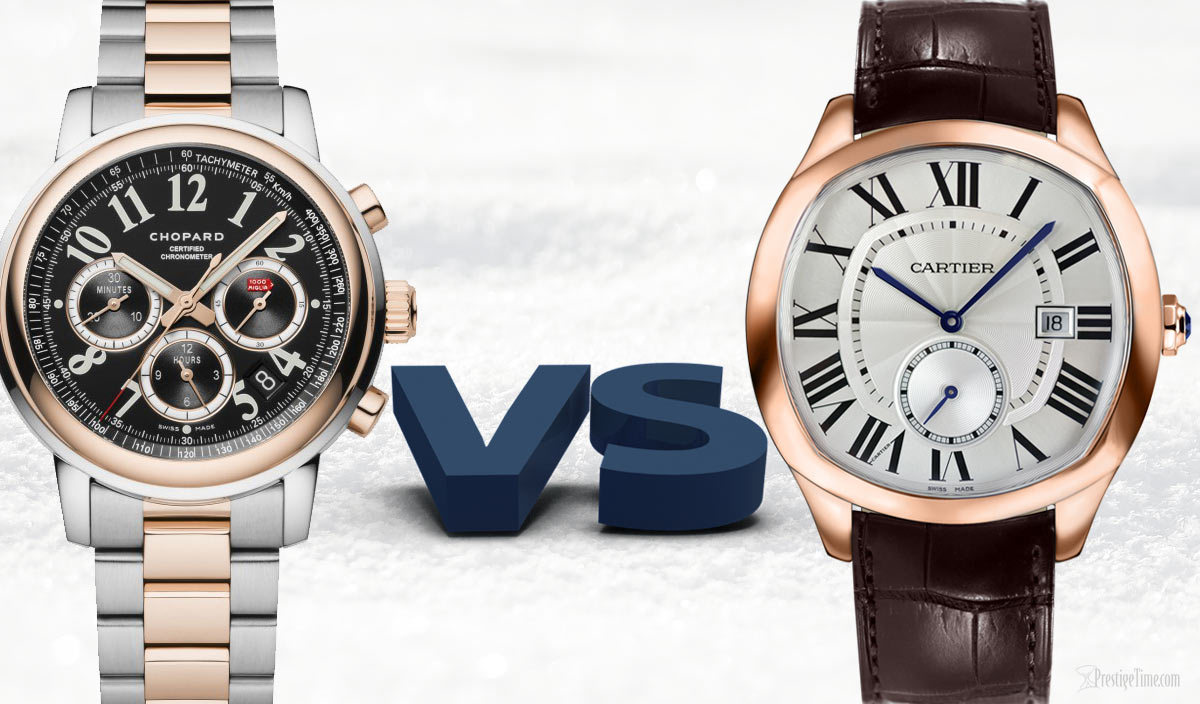 Cartier Watches Comparison Of Chopard Vs Cartier Watches What S Best