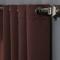 RHF Thermal Insulated Blackout Patio door Curtain Panel ...