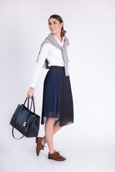 Spódnica plisowana: Reserved, cena: 75,00 złotych